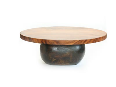 eco1start: oval coffee table