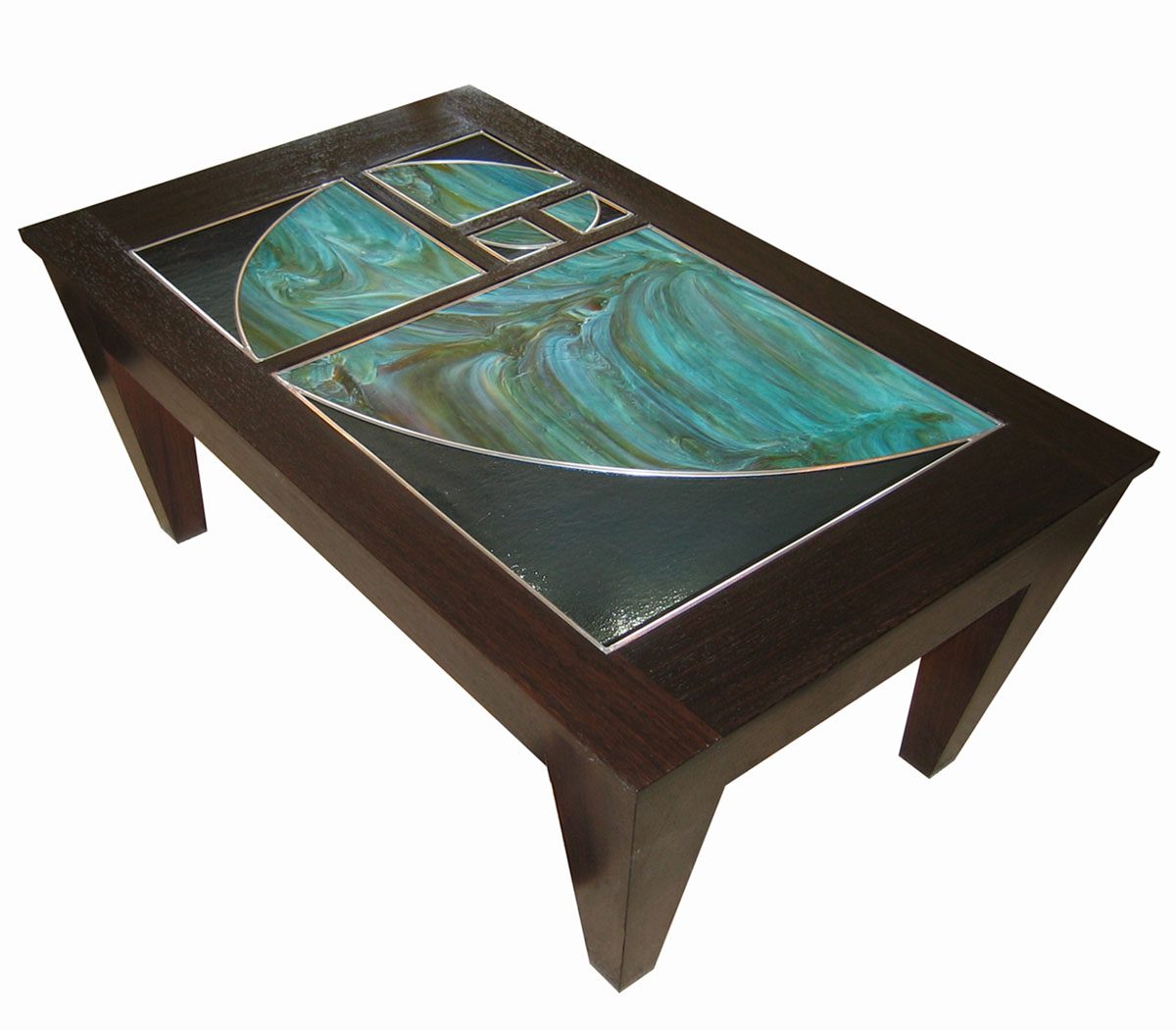 Great Eco1stArt.com Golden Section Coffee Table Detail View