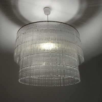Eco1stArt: Spoon Chandelier